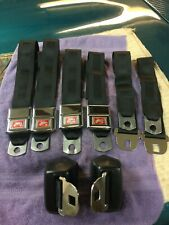 65-66-67-PONTIAC-GTO-LEMANS-BUICK-CHEVY (SET 4 DELUX SEAT BELTS (RECONDITIONED)