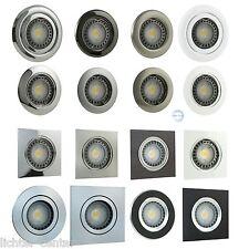 LED Einbaustrahler Einbauspots SMD Decken Strahler Spots Einbaulampe Schwenkbar