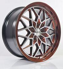 4pcs O.Z 17 inch Mag Wheels Rim 5X114.3 Alloy wheel Car Rims LG13-3