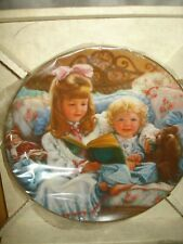 Hamilton Collection Night-Time Story Plate
