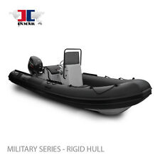 "17' 2"" (520R-MIL) MILITARY RHIB Inflatable Boat W/ SUZUKI 70HP - NEW !!"