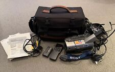 Sony CCD-TRV48E Camcorder Bundle With Spare Battery, Bag And Remote Control