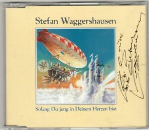 Stefan  Waggershausen  Maxi-CD + 4 Autogramm-Karten  !! s. Scan
