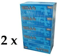 10 x Rizla King size Cigarette Tube 8mm(100 Empty Tubes per Box) made in Germany