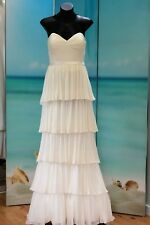 "Rue De Saine ""Fleur"" Wedding Dress, Size 6, RRP$1800 in cream (boho)"