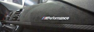 BMW FACTORY ///M PERFORMANCE CARBON FIBER ALCANTARA INTERIOR TRIM 51952350474