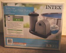 Intex 28635EG Krystal Clear Cartridge Filter Pump