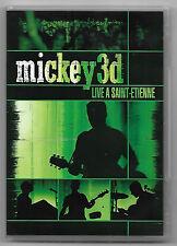 DVD / MICKEY 3D - LIVE A SAINT-ETIENNE (MUSIQUE CONCERT)