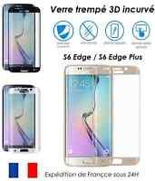 Pellicola integrale curvo vetro temperato 3D Galaxy S6 Edge e PLUS copertura