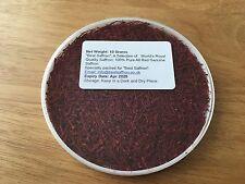 10 Gram 100% Pure Genuine Royal Quality Saffron Spice, Grade I