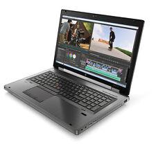 """HP Elitebook 8770w Intel i7 3720QM 2.6Ghz 8GB 500GB 1GB ATI 17.3"""" Full HD Win 10"""