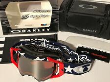 Oakley Airbrake MX Goggle TLD Signature 7046-71 Liberty RWB/prizm MX bl. irid.