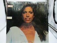 THE BEST OF CARLY SIMON LP Record w/ SHRINK 1975 Elektra 7E-1048 VG++ c VG++