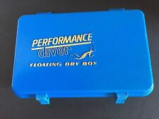 Performance Diver Floating Dry Box Watertight Case Blue 7.5 x 4.5 x 3