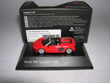Herpa Audi R8 Spyder V10 Cabrio Dynamitrot Dynamite Red 1:87 H0 Art.5011618521