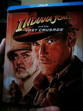 Indiana Jones and the Last Crusade Blu-Ray Steelbook - New Sold Out OOP