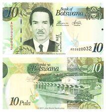 Botswana 10 Pula 2014 P-30d Banknotes UNC
