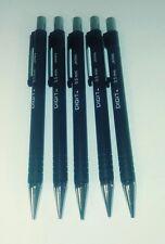 Vintage Sanford Digit Black Mechanical Pencil 0.5 mm 0.5mm Japan New 5 Pack $$