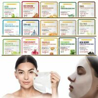10pcs Korean Facial Skin Care Mask Sheet Moisture Essence Face Pack
