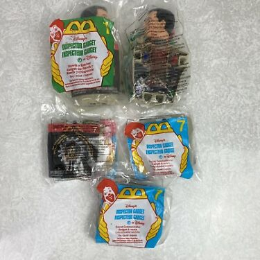Inspector Gadget McDonalds Kids Meal Toys 1999 Lot of 5 Secret Communicators Etc