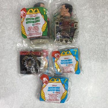 Inspector Gadget McDonalds Kids Meal Toys 1999 Lot of 5 Secret Communicators Etc