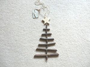 East of India Handmade Twig Ladder Christmas Tree
