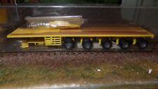 VK Modelle 08700207 - Ballast trailer giallo rimorchio 5 assi scala HO 1:87