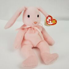 Ty Hoppity Pink Bunny Beanie Baby With Tag Errors