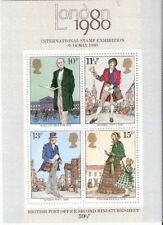 Great Britain 1979 Roland Hill London 80 Expo Souvenir Sheet Mnh (Sc# 874a)