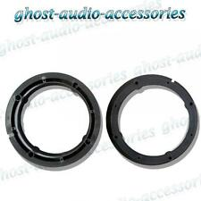 """Audi A2 2000  165mm 6.5"""" Speaker Collar Adaptor Rings for Front Door VW-100"""