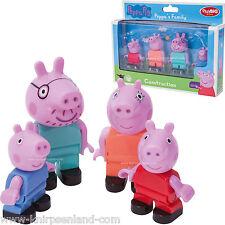 Figurenset Papa Mama Peppa Pig Schorsch Wutz Big Bloxx Spielfiguren Kompatibel