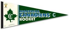 Montreal Canadiens Vintage NHL 1910-11 Style Premium Felt Collectors PENNANT
