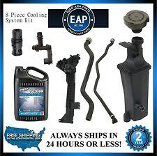 For 323Ci 323i 325Ci 325i 325xi Coolant Tank & Cap w/ Thermostat & Hoses Kit New