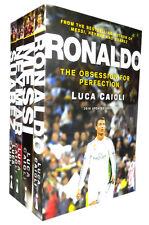 Messi Ronaldo Suarez Neymar 2016 Edition Footballers 4 Books Collection Set