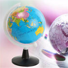 85mm World Globe Atlas Map With Swivel Stand Geography Educational Toy Miniature