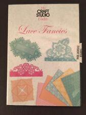 Mon Craft Studio Elite dentelle Fancies CD ROM s'adapte Tattered Lace Dies Papier Artisanat