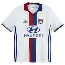 Maillots de football de clubs français blancs enfant manches courtes