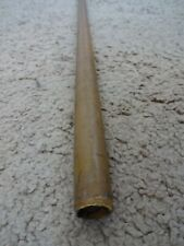 "Rod Building Wrapping Vintage Yellow Glass Hvy Blank 7'8"" 1pc Harnell? Lamiglas?"