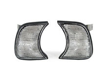 DEPO Euro M5 Clear Corner Signal Lights Pair For 1989-1996 BMW E34 5 Series