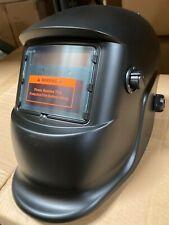 Black Solar Auto Darkening Welding Helmet Arc Tig Mig Certified Mask Grinding
