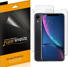 """3xSupershieldz Front + Back Anti Glare Matte Screen Protector for iPhone XR 6.1"""""""