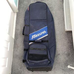 Mizuno Travel Golf Club Bag With Wheels And Handle - Blue