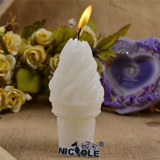 Nicole 3D Ice Cream Shaped Resin,Clay Crafts Handmade Silicone Soap Candle Molds