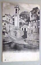 cartolina COMO Blevio chiesa  viaggiata primi  1900           13/6/16