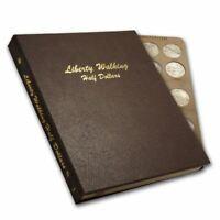 Complete Walking Liberty Half Dollar Set in Dansco Album (Circulated)