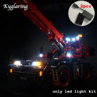 Kyglaring LED Light for LEGO Technic 42082 Rough Terrain Crane Beleuchtungs Sets