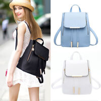 Womens Small Backpack Satchel Shoulder Rucksack Mini Bag Travel PU Leather US