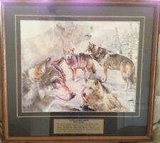 """""""Wolf Spirit"""" - Wild Kingdom Series -  framed, matted 25.5"""" X 23.5"""""""