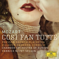 Mozart, Chamber Orchestra Europe, Yannick Nézet-Séguin – Così fan Tutte 3CD NEW