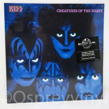 Kiss Creatures of the Night Sealed 180g Vinyl LP + MP3 Voucher